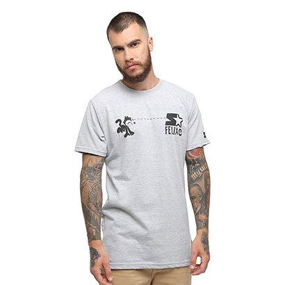 Camiseta Starter Gato Felix Hypnotic - Masculino