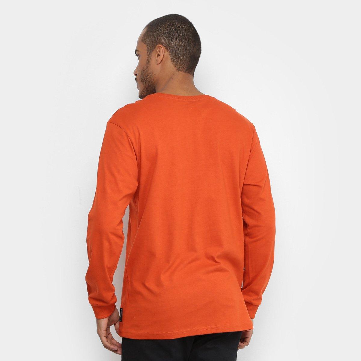 Camiseta Starter Manga Longa Pixo Color Masculina - Compre Agora ... a6fcad87ba3