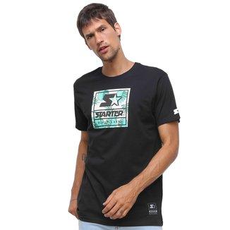 Camiseta Starter Neon Folhagens