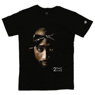 Camiseta Stoned Face 2Pac  Masculina