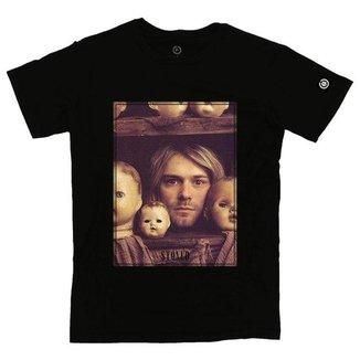 Camiseta Stoned Kurt Kobain Masculina