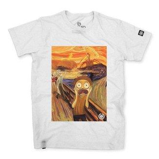 Camiseta Stoned O Grito Morty Masculina