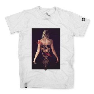 Camiseta Stoned Smoke Girl Masculina