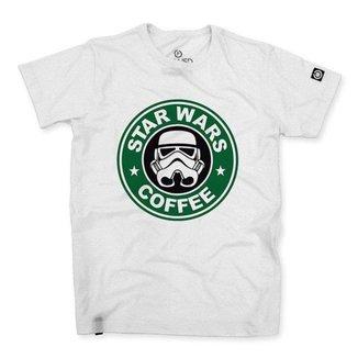 Camiseta Stoned Star Wars Coffee Masculina