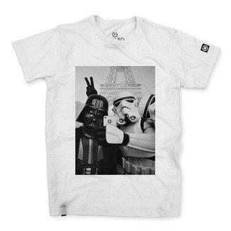 Camiseta Stoned Star Wars Selfie Masculina