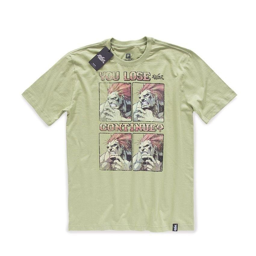 Fighter Camiseta Street You Street Camiseta Verde Lose qgwtO