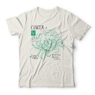 Camiseta Studio Geek Signo Câncer Feminina