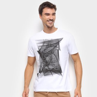 Camiseta Suburban Estampada Manga Curta Masculina