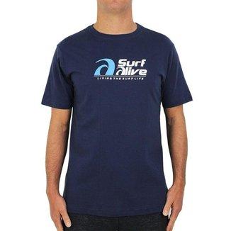 Camiseta Surf Alive Logo Masculina