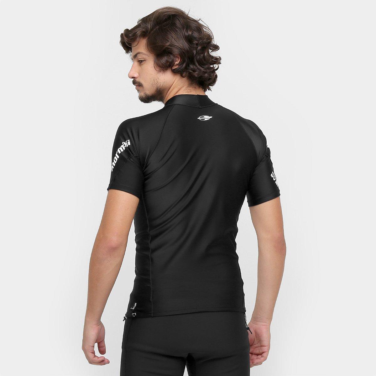 Camiseta Surf Mormaii Extra Line Masculina - Preto - Compre Agora ... e4cdec0914