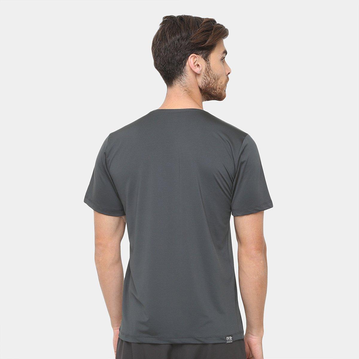 Camiseta Surf Mormaii Proteção UV 50+ Masculina - Preto - Compre ... 76ab0ad810
