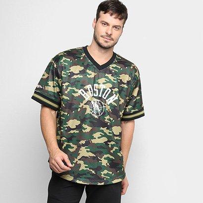 Camiseta Swingman Mitchell & Ness NBA Boston Celtics Masculina - Masculino