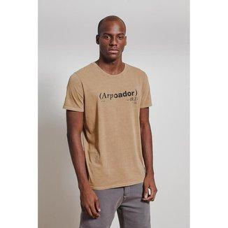 Camiseta T-Shirt  Arpoador Rj Masculina
