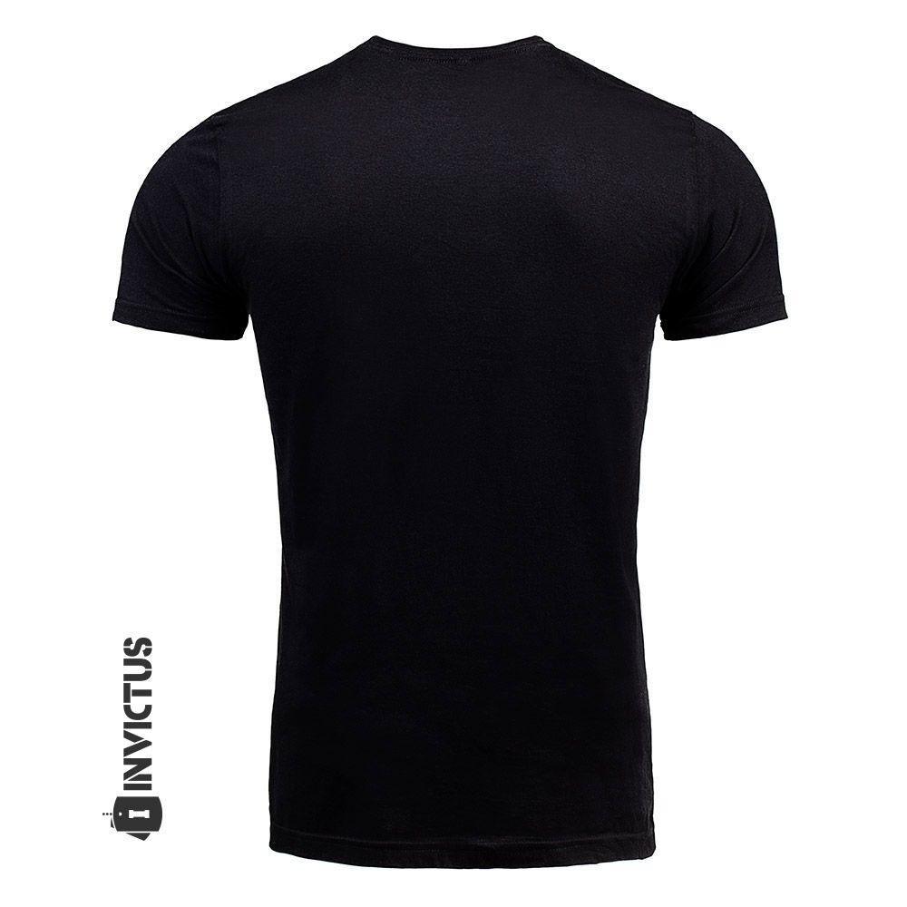 T AR15 Camiseta Preto shirt Camiseta Invictus T BLACK Concept SrwwEYpRq