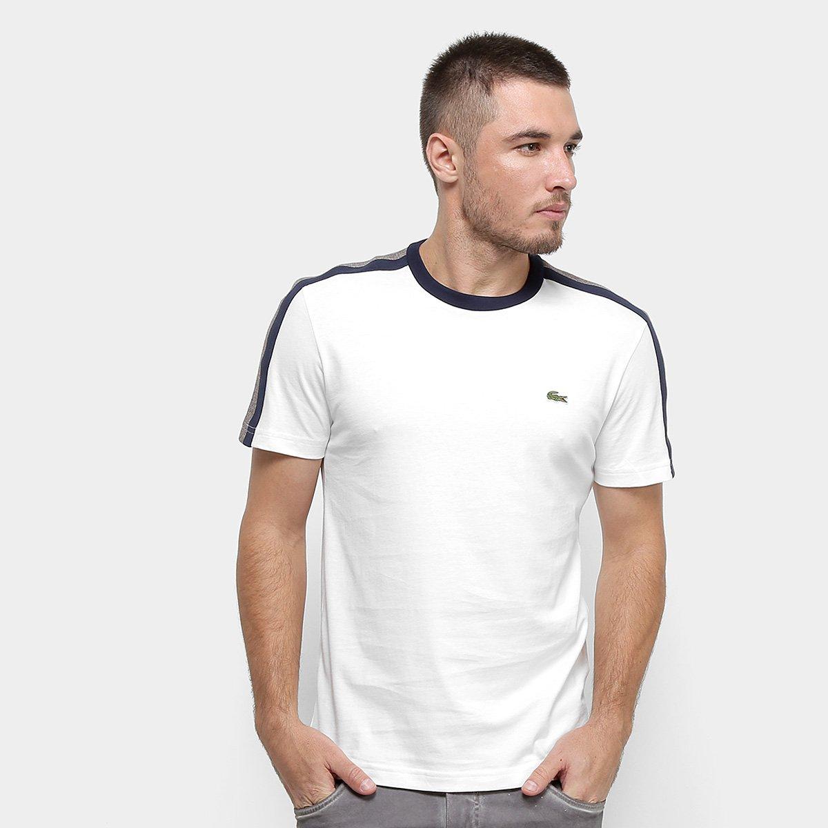 Homens Meninos Listra Camiseta top de algodão