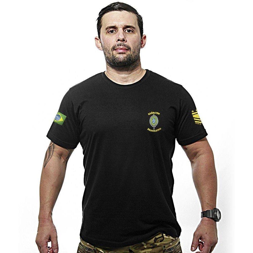 070e46ad40235 Camiseta Team Six Bordada Exército Brasileiro - Compre Agora