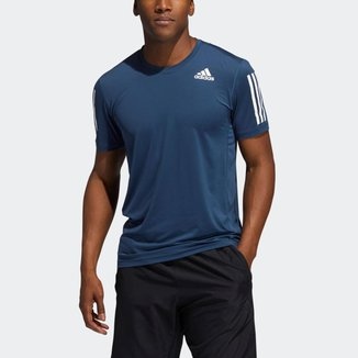 Camiseta Techfit 3-Stripes Fitted Adidas