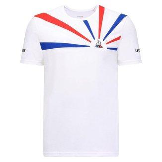 Camiseta Tennis Tee SS 20 N2M Branco - Le Coq Sportif