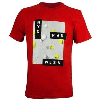 Camiseta Tennis Vermelha - Wilson