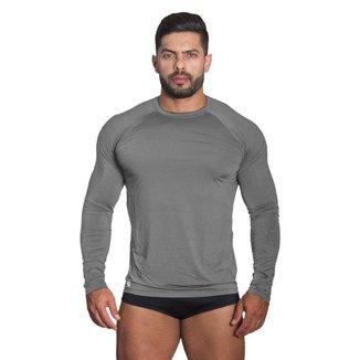 Camiseta Térmica Masculina Proteção UV Polo Sport