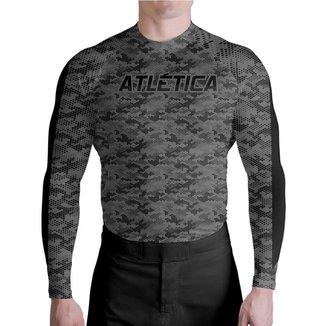 Camiseta Térmica Professional Camuflada Atlética Esportes