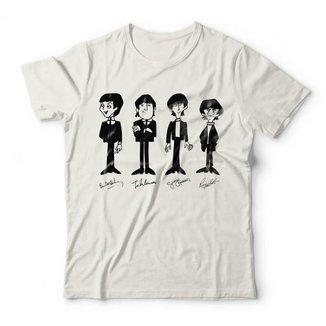 Camiseta The Beatles Signatures