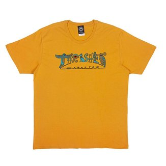 Camiseta Thrasher HieroGlyphics Amarela