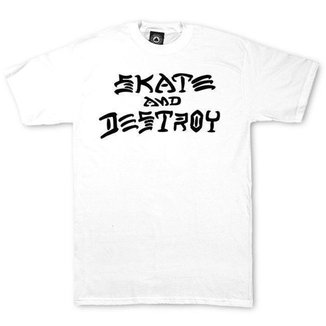 Camiseta Thrasher Magazine Skate and Destroy Masculina