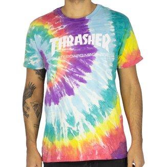 Camiseta Thrasher Skate Mag Colored Dye Masculino