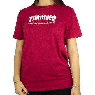 Camiseta Thrasher Skate Mag Girl Feminino