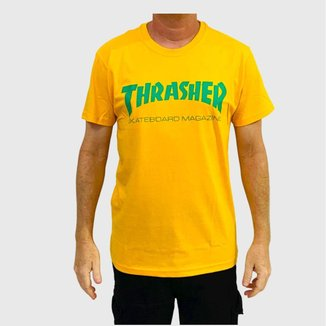 Camiseta Thrasher Skate Mag Logo Masculina