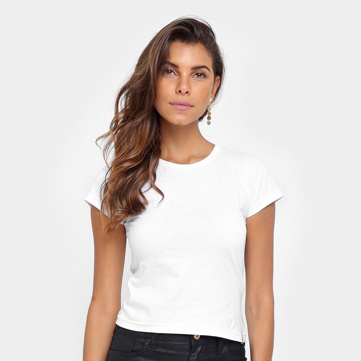 4c33012740cd6 Camiseta Tig's Gola Redonda Manga Curta Feminina - Compre Agora ...