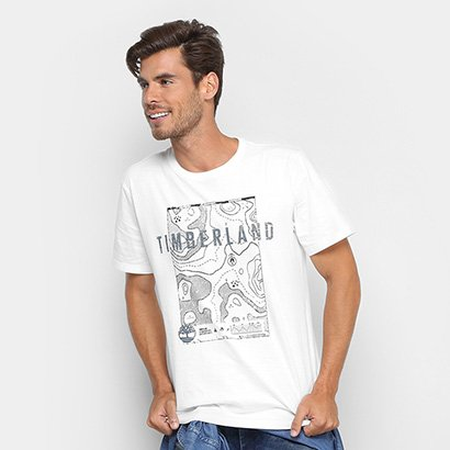 Camiseta Timberland Signature Maps Masculina