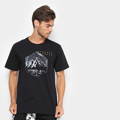 Camiseta Timberland Travel Stamp Masculina