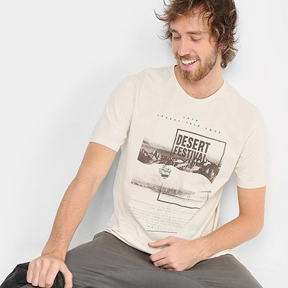 Camiseta TREEBO Desert Festival Masculina
