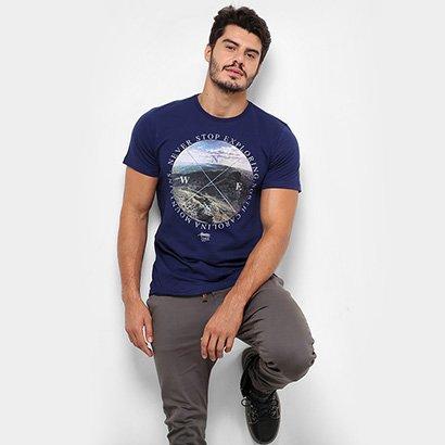 Camiseta TREEBO Never Stop Masculina