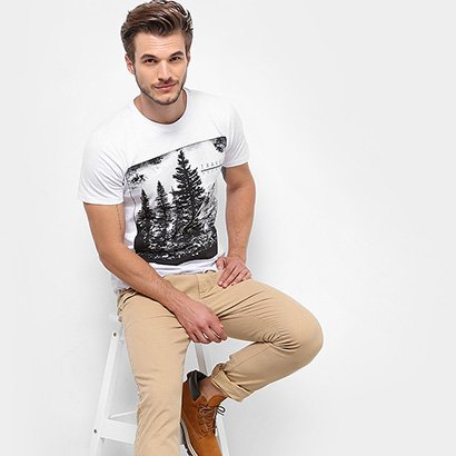 Camiseta TREEBO Travel Secret Masculina