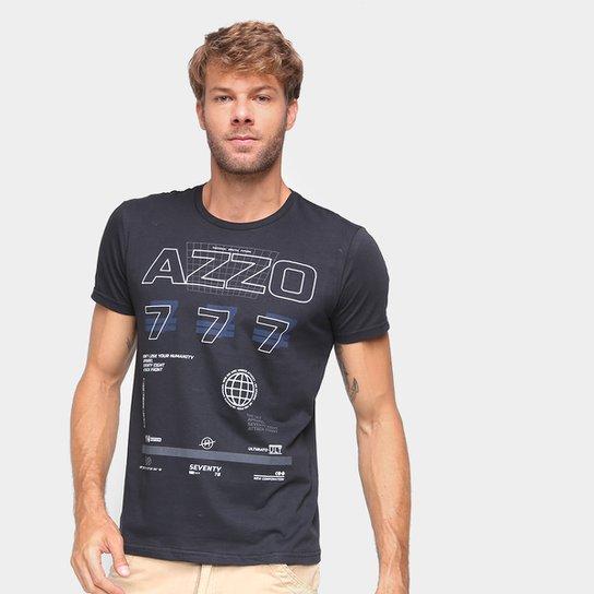Camiseta Ultimato Estampada Masculina - Preto