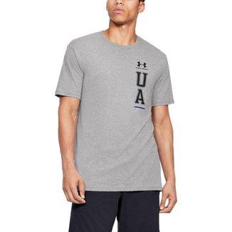 Camiseta Under Armour De Treino Vertical Left Chest Masculina