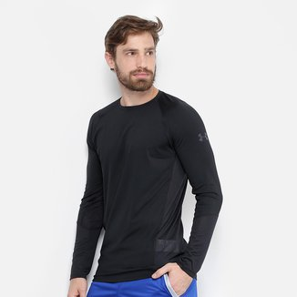Camiseta Under Armour MK1 LS Manga Longa Masculina