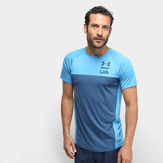 Camiseta Under Armour Mk1 Ss Colorblock Ss19 Masculina