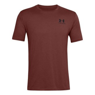 Camiseta Under Armour Sportstyle Left Chest SS Masculino