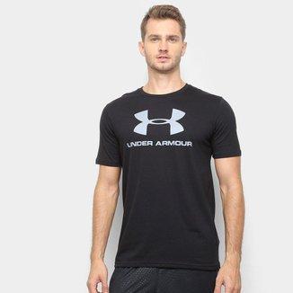 Camiseta Under Armour Sportstyle Logo 19 Masculina