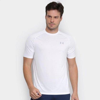 Camiseta Under Armour Tech 2.0 Masculina Branco