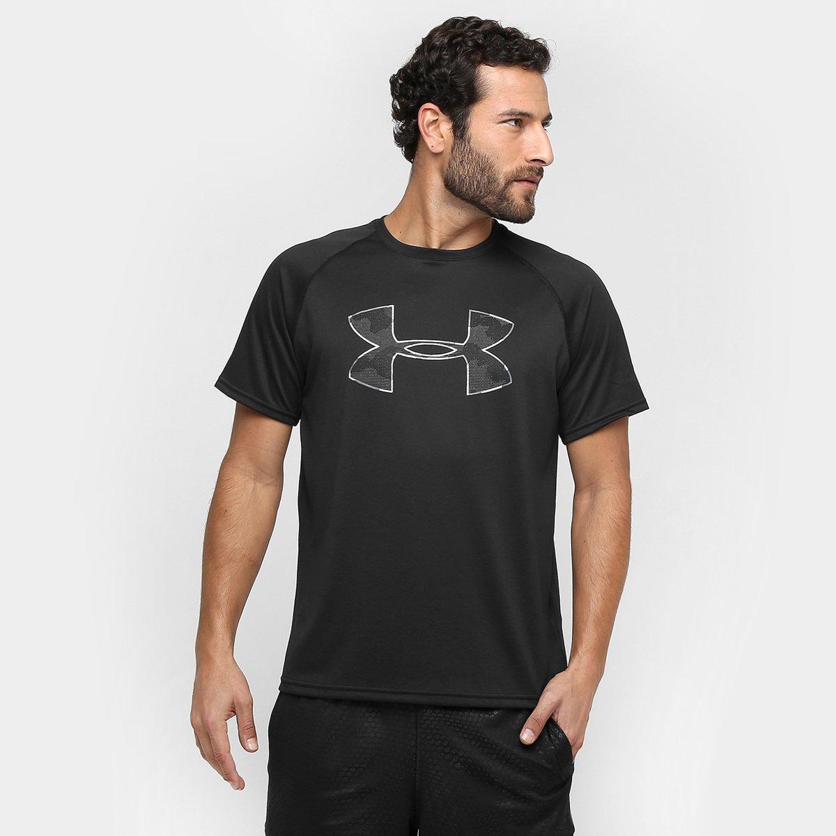 d99df32111b Camiseta Under Armour Tech Camo Big Logo Ss T Masculina - Compre Agora