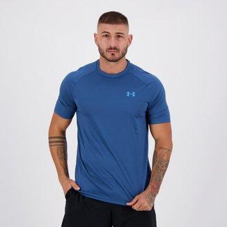 Camiseta Under Armour Tech II SS Azul