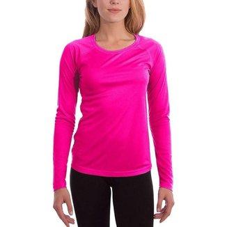 Camiseta UV Protection Feminina UV50+ Tecido Ice Dry Fit Secagem Rápida - Vermelho - EGG - Homem