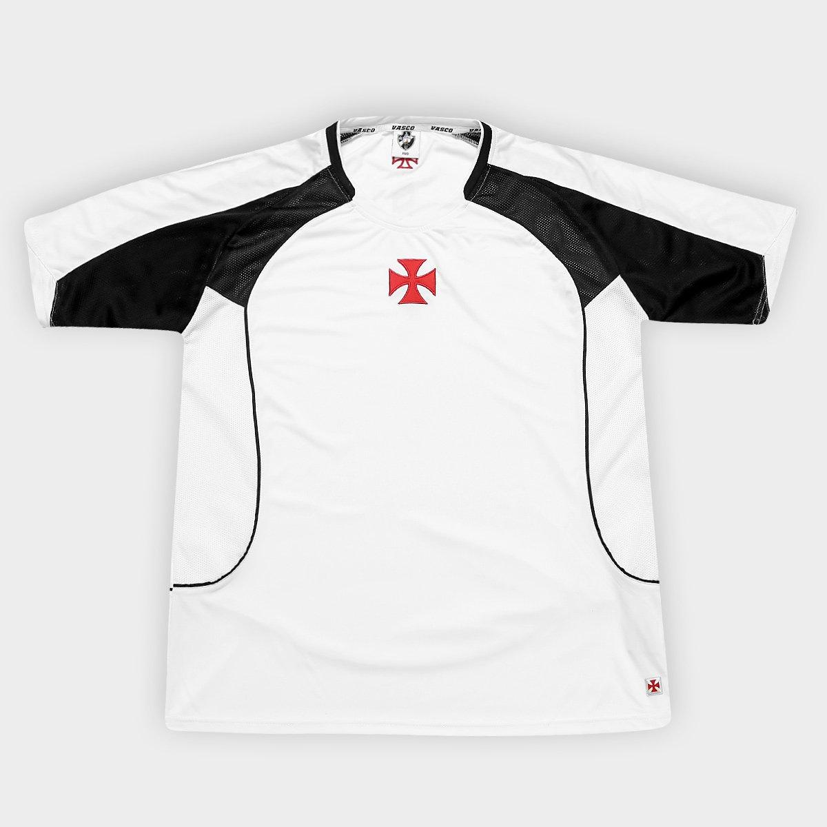 5cd18acc5bc0a Camiseta Vasco Cruz de Malta Central 02 Masculina - Compre Agora ...