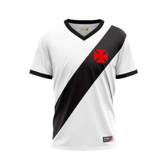 Camiseta Vasco - EXPRESSO - Branco