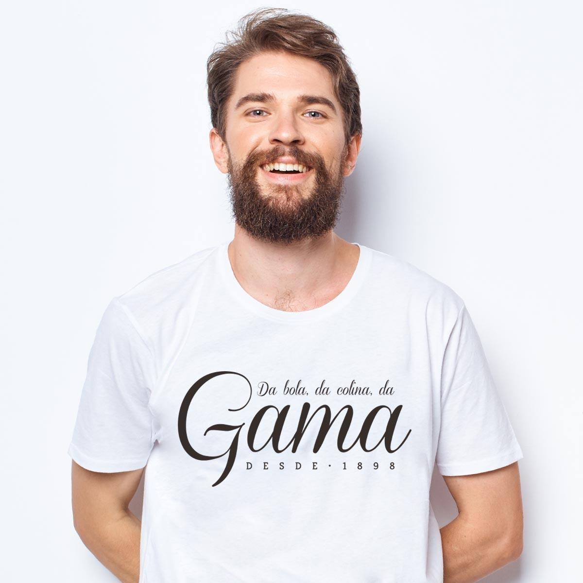 różnie Pierwsze spojrzenie ogromna zniżka Camiseta Vasco Gigante da Colina Da Gama Zé Carretilha Masculina - Branco